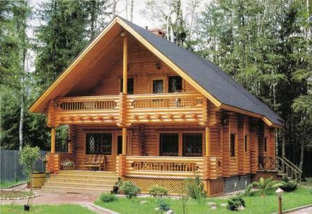 Casa de madeira compensa